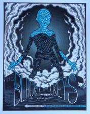 The Black Keys 2014 Poster St. Louis, MO Signed & Numbered #/300 Rare