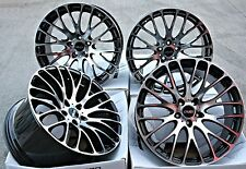 "19"" CRUIZE 170 ALLOY WHEELS BLACK POLISHED CONCAVE STAGGERED 19 INCH ALLOYS"