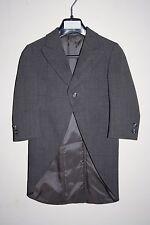 Luxury Wilvorst Surrey Children Boys Frock Coat Tailcoat Wedding Grey Wool Blend