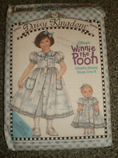 "Daisy Kingdom   Dress   Slip   18""  Doll Dress  Pattern    size  3  to  8"