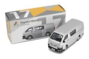Tiny City Die-cast Model Car – Toyota Hiace (Silver) #17