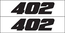 MG 2338 402  fits Chevy GM Big Block Engine Decal Sticker Metro Auto Graphics