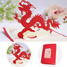 Handmade 3D Up Handcrafted Kirigami Birthday Greeting Card Chinese Dragon New