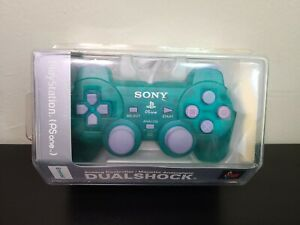 [OFFICIAL SONY PLAYSTATION 1 OEM] Factory Sealed Emerald Green DUALSHOCK