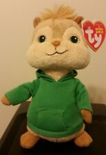 NMT * Ty Beanie Baby ~ THEODORE ~ Alvin and the Chipmunks ~MINT w/ NEAR MINT TAG