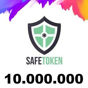 10,000,000 SafeToken - 10 MILLION - CRYPTO MINING CONTRACT - Crypto Currency