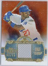 /15 Matt Kemp Dodgers Padres 2013 Topps Tribute to the Stars Sepia REF Jersey SP