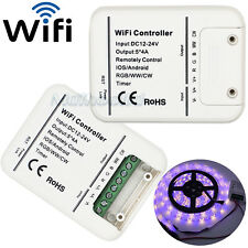 WiFi LED Smart Remote Controller for IOS Android Phone Alexa RGB Strip Light UK