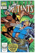 NEW MUTANTS #93(9/90)7th CABLE(vs WOLVERINE)1:KAMIKAZE(STRYFE/SUNFIRE)CGC IT(9.8