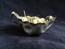 Natrualistic Leaf Salt dish and spoon by Redlich