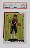 2018 PANINI HOOPS TRAE YOUNG ROOKIE #250 PSA 10 GEM MINT HAWKS RC