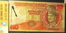 Malaysia RM10 6th Printing Error GVF 2 pinholes