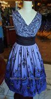 Disney Parks Haunted Mansion 50th Anniversary Dress Shop Wallpaper Dress XS-3X