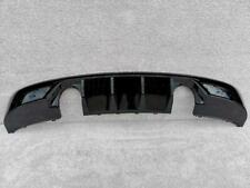AUDI TT S LINE 2019-on REAR BUMPER DIFFUSER BLACK EDITION GENUINE