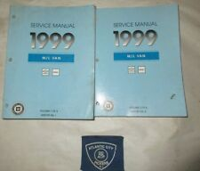 1999 CHEVROLET GMC M/L VAN SERVICE SHOP REPAIR MANUAL SET