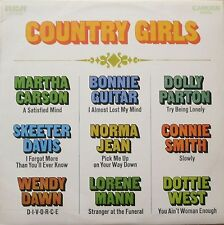 Country Girls Sampler: Nine LOVELY country-Ladies (RCA Camden LP AUSTRALIA 1970)