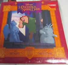 Disney The Hunchback Of Notre Dame 1997 wall CALENDAR 16 MONTH+STICKERS+POSTER