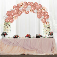 Rose Gold Latex Balloons Arch Kit Set Wedding Party Birthday Decor Home Adult UK