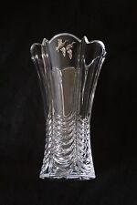 Pair Of Ducks Vase Flower Table Vase  Cut Crystal Glass Duck Shooting Gift