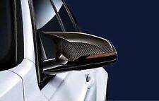 L+R BMW F80 M3 F82 M4 M Performance Carbon Mirror Caps X2 GENUINE BMW RRP £690