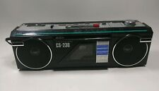 Vintage Aiwa CS-230 Band Radio Cassette Recorder Boombox - See Description