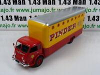 "PIN21B 1/43 IXO CIRQUE PINDER : Renault R4220 n°12 ""Loges des artistes"""