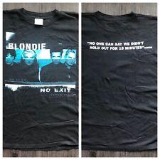 Blondie Concert Tour T-Shirt Vintage 1998 No Exit Size Xl Punk Debbie Harry