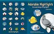 Stained Glass Pattern Book - Adorable Nightlights - Illustrated designs of night