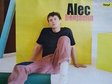 ALEC BENJAMIN - A4 Poster (ca. 21 x 28 cm) - Clippings Fan Sammlung NEU