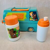 Scooby-Doo The Mystery Machine 2000 Thermos Lunch Box W/ Thermos and Sip bottle
