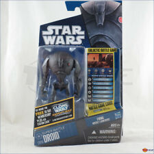 Star Wars Clone Wars 2010 Super Battle Droid CW16 action figure by Hasbro - worn