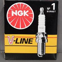 4 x NGK BUR6ET Zündkerzen V-Line No 1 für VW Polo 86C 1.0 & 1.3 mit/ ohne KAT #