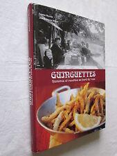 CUISINE: GUINGUETTE HISTOIRES et RECTTES AU BORD DE L'EAU (Livre + CD)