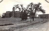 D57/ Blair Nebraska Ne Real Photo RPPC Postcard c1940s Dana College Buildings