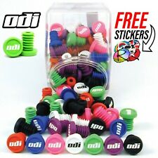 ODI Push In Bar Ends (2pcs), 7 Colours! Fits All Scooters and Bikes! Push and Go