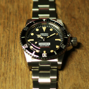 Seiko NH35 - Vintage 5514 Submariner Comex Style Homage Mod Watch