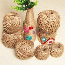 90M Natural Brown Jute Hemp Rope Twine String Cord Shank Craft String DIY Make^P