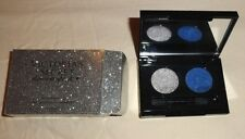 NEW VICTORIA'S SECRET DIAMONDS  AFTER DARK EYESHADOW DUO BLUE & SILVER / GREY