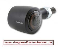 LED Blinker ENTERPRISE EP-1 schwarz/silber PAAR Motorrad ATV QUAD