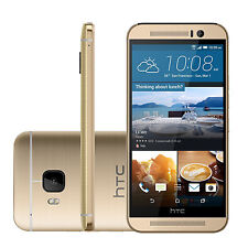 5.0'' HTC ONE M9 32GB 20.0MP Android OS Unlocked 4G LTE Smart Phone - AMBER GOLD