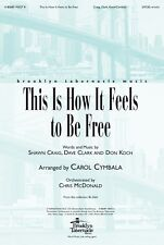Church Choir Anthem: This Is How It Feels To Be Free-Orchestration Only