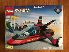 VINTAGE VERY RARE LEGO LAND JET 6580 Complete Set  Never Opened