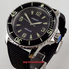 45mm CORGEUT black dial miyota super luminous 8215 Automatic mens watch C116