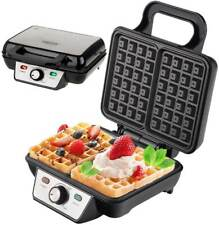 Waffeleisen 1600 Watt Waffelautomat Wafflemaker Elektrogrill Waffle Maker