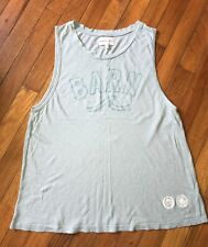 SoulCycle X Sundry Anthropologie Barn Workout Exercise Loose Tank Top Shirt S