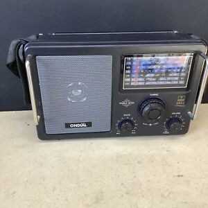 Ondial 7 Band Radio High Sensitivity World Receiver 4.4W Air Band Radio Tested