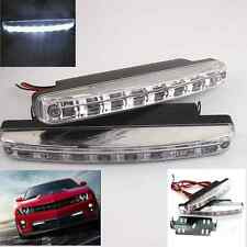 White LED Car DRL Driving Daytime Running Fog Light k Bumper Lamps For Toyota 2x