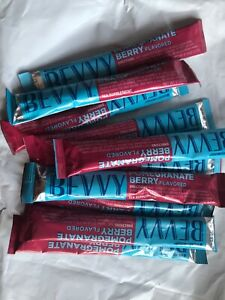 10 Packets Beachbody Bevvy Pomegranate Flavored Tea Supplement [11/2021] NEW!