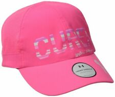 "NEW Under Armour Womens Pip Flyfast Running ''CURE"" Cap-Pink OSFA"