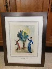 Salvador Dali Lithographie mit Originalunterschrift Göttliche Komödie